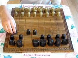 ancient chess how to play ancient chess shatranj youtube