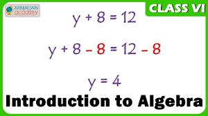 introduction to algebra maths class vi cbse isce ncert youtube