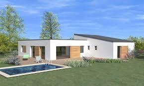 modele maison plain pied 4 chambres plan maison 4 chambres tanais habitat