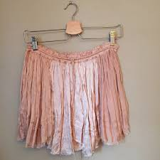 free people free people blush silk mini skirt from frances u0027s