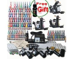 professional 3 tattoo gun tattoo kit with tattoo power supply 54