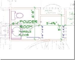 Small Full Bathroom Floor Plans All In The Detail Freshen Up Your Powder Room