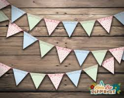 Shabby Chic Banner by Shabby Chic Papers Etsy