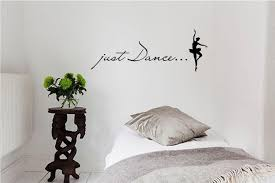 amazon just dance vinyl wall art inspirational quotes and vinyl wall art inspirational quotes and saying home decor decal sticker kitchen