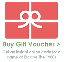 seriously rad gift tickets escape the 1980s gameescape the