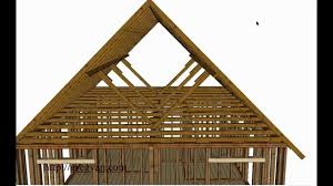 what is a roof purlin u2013 house framing and construction youtube