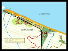 Southwest Michigan Map by Little Girls Point County Park Michigan Water Trails