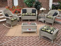 Driftwood Outdoor Furniture by Resin Wicker Patio Furniture Midsize