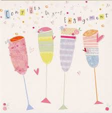 congrats engagement card congrats on engagement card free uk delivery