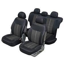 housse de siege auto housse siège auto universelle pour 4x4 et suv gris et noir my housse