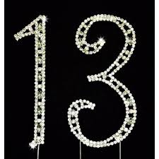 rhinestone number cake toppers silver number with rhinestone cake and centerpieces decorations