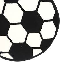 Sports Area Rug Rugs Shape High Pile Soccerball Sports Area Rug Reviews