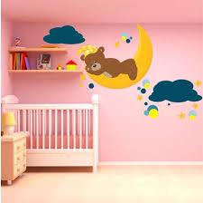 stickers panda chambre bébé sticker chambre fille stickers muraux chambre bebe agracable sticker
