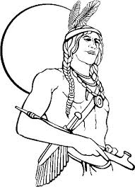native american boy coloring pages download print free