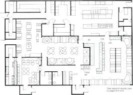 plan layout simple restaurant layout kitchen floor plan bauapp co