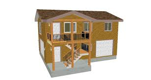 beautiful garage plans with apartment one level ideas house