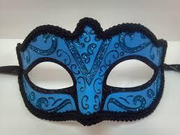 blue mardi gras masquerade masks light blue and black masquerade mask