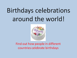 celebrating birthdays around the world by philippa beck teaching