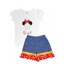 210 children u0027s disney clothing personalized minnie mouse