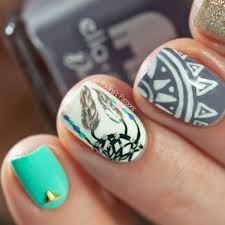 89 impressive aztec nail art ideas for people who long for a