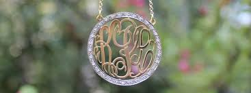 monogrammed jewelry monogram jewelry personalized gifts be monogrammed