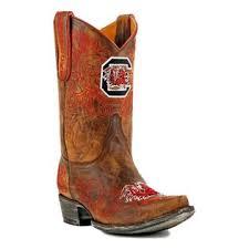 womens boots usc gameday boots womens team south carolina brass usc l114 1