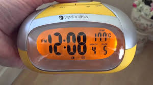 Talking Clock For The Blind Verbalise Clock For The Blind Youtube
