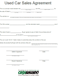 sales contract template for car best resumes curiculum vitae and