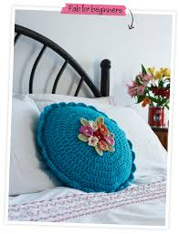 Free Cushion Crochet Patterns Round Cushion Free Pattern By Nicki Trench From Her U0027crochet