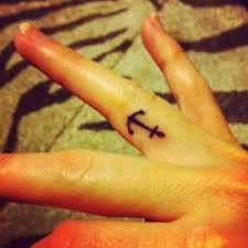 anchor finger tattoo anastasia samsonova rucks tattoos i want