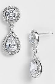 nadri earrings cubic zirconia drop earrings nordstrom exclusive