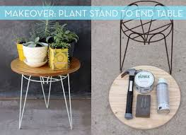 How To Build A Wood End Table by Best 25 Outdoor Side Table Ideas On Pinterest Easy Patio