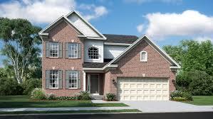 Single Family Homes Floor Plans Bridgeport Floor Plan In Parkside At Westphalia Single Family
