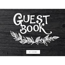 guest book with black pages modern black rustic guest book amare wedding