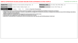 Sample Public Health Resume by House Parent Resumes Samples