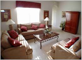 Cherry Home Decor Excellent Comfortable Small Family Room Decorating Ideas Red