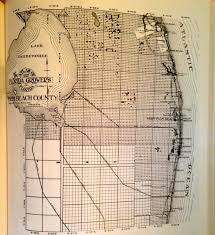 Palm Beach Map Original Palm Beach County Map Included Today U0027s Martin County