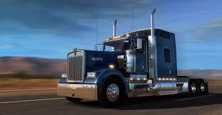 a model kenworth american truck simulator adds kenworth w900 improves traffic law