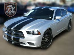 2014 dodge charger blue dodge charger stripes racing stripes r t graphic kit streetgrafx
