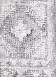 Heirloom Lace Curtains Handmade Tuscany Lace Tablecloth Cotton Heirloom Netting The