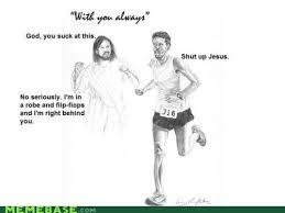 Lol Jesus Meme - lol jesus marathon man marathons