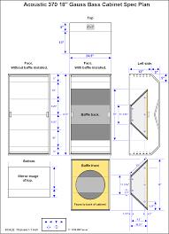 Diy Speaker Box Schematics Bass Cabinet Schematics Pa Systems Sound Systems Speaker Boxes