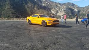 2018 ford mustang gt spotted making lovely noises the drive