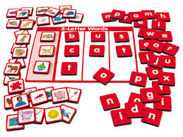 build a word magnet board 3 letter words at lakeshore learning