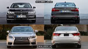 lexus ls 2016 benim otomobilim 2016 lexus ls vs 2016 bmw 7 series interior