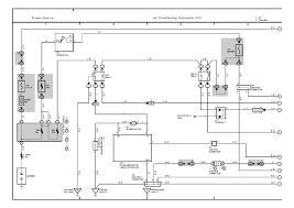 ac wiring diagrams toyota wiring diagrams instruction