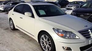 hyundai genesis sedan 2009 pre owned white 2009 hyundai genesis v8 w technology pkg review