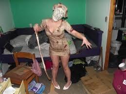 Pyramid Head Halloween Costume Silent Hill Nurse Costume Nurse Costume