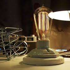 2017 vintage style industrial edison lamp base old fashion with