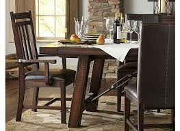 havertys dining room sets arden ridge trestle table havertys